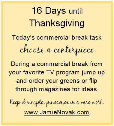 jamie novak, holiday, stress, to do list, clutter, table, file, papers