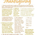 10 Things to Give Up This Thanksgiving from Jamie Novak