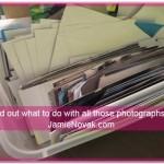 how to organize photos